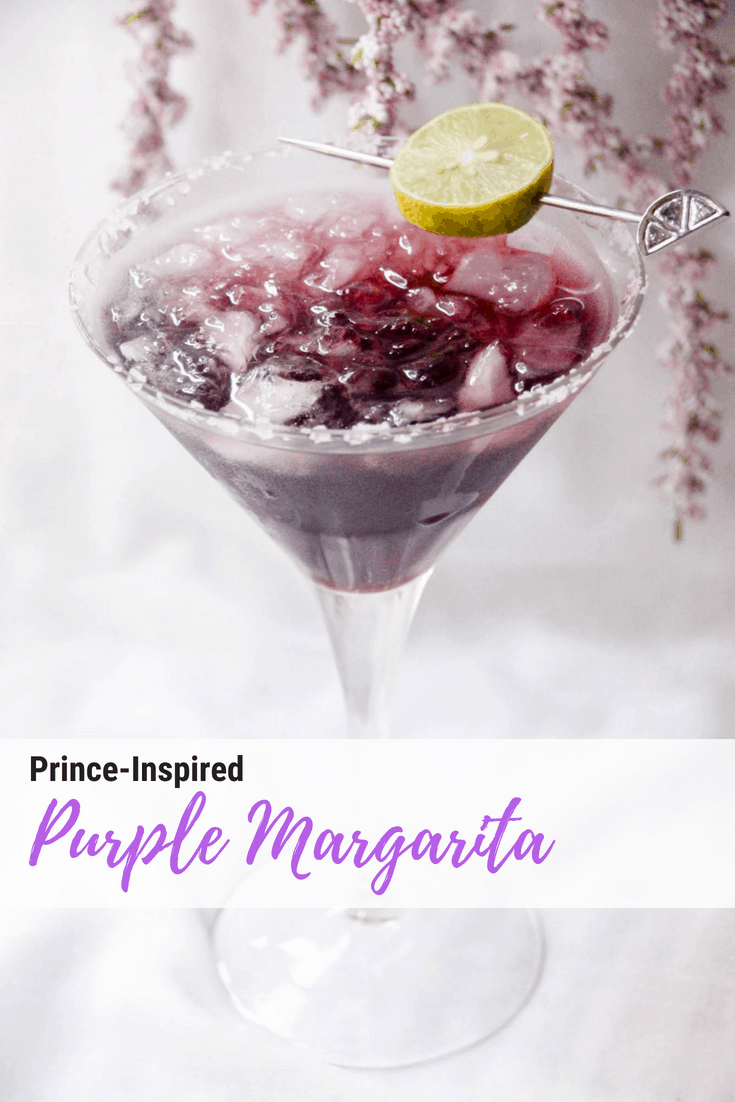The Purple Margarita Inspired by Prince