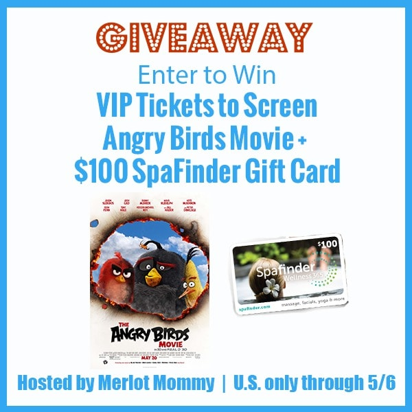 FLASH Mother's Day Giveaway and The Angry Birds Movie Tickets