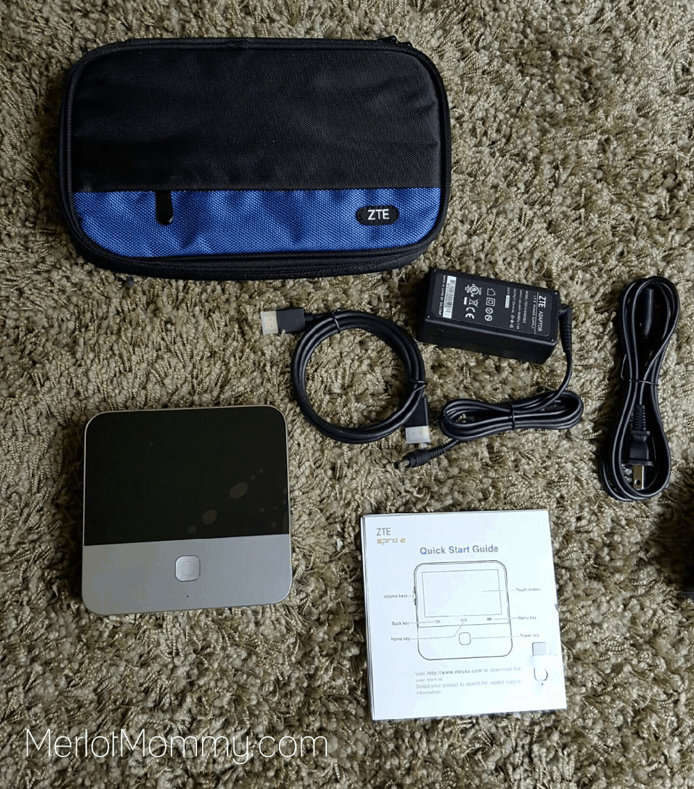 the ZTE SPRO 2 Wireless Smart DLP Projector from Best Buy