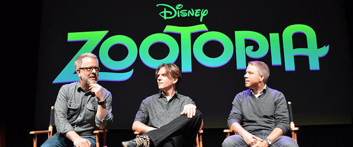Exclusive Interview with Zootopia's Byron Howard, Rich Moore, and Clark Spencer