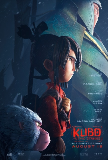 LAIKA'S Kubo and the Two Strings