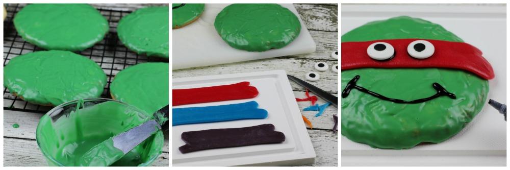 TMNT Cookies in process
