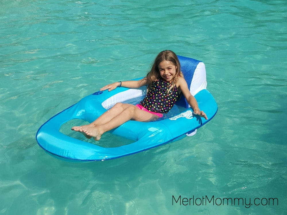 Enjoy Summer Pool Time with SwimWays Spring Float Recliner