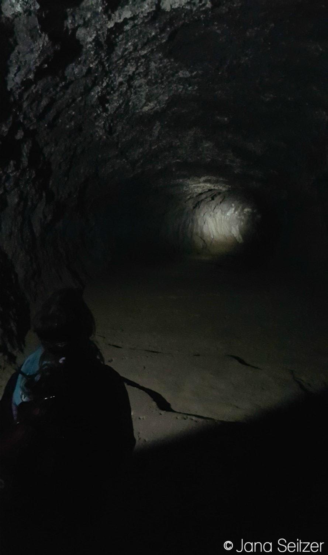 Exploring Lava River Caves in Bend, Oregon
