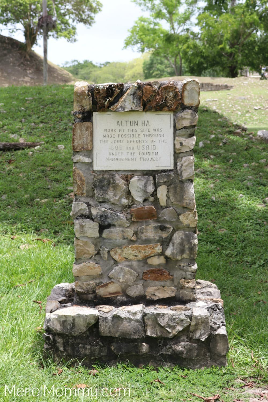 Altun Ha Mayan Site in Belize