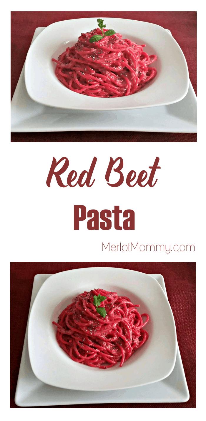 Red Beet Pasta Recipe