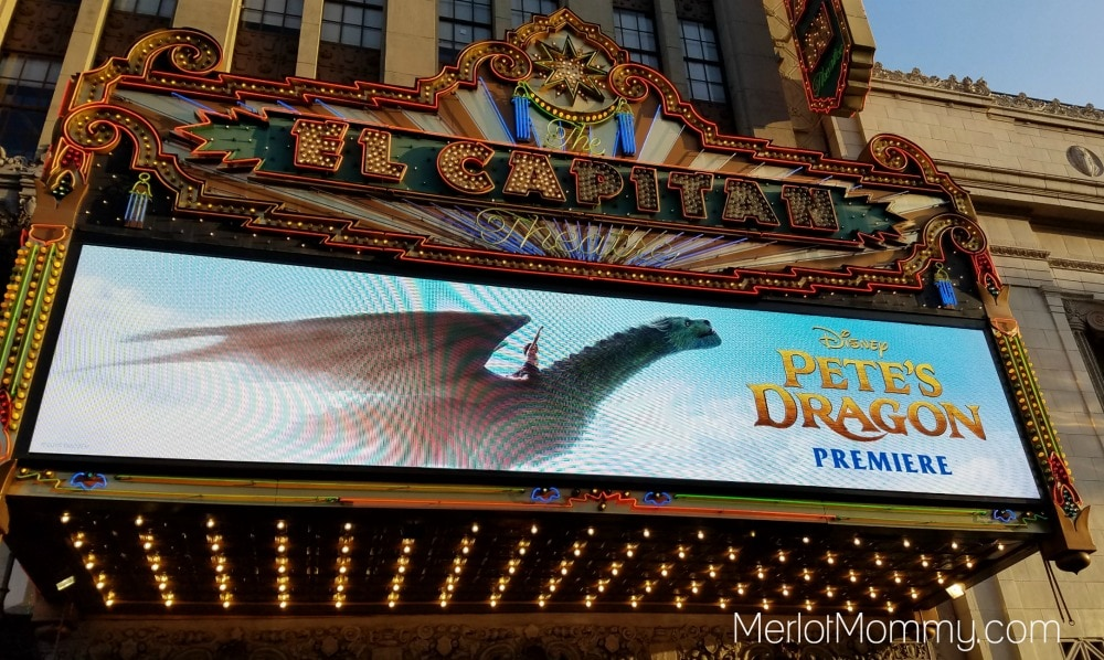 Behind-the-Scenes at the Pete's Dragon Red Carpet Premiere Event