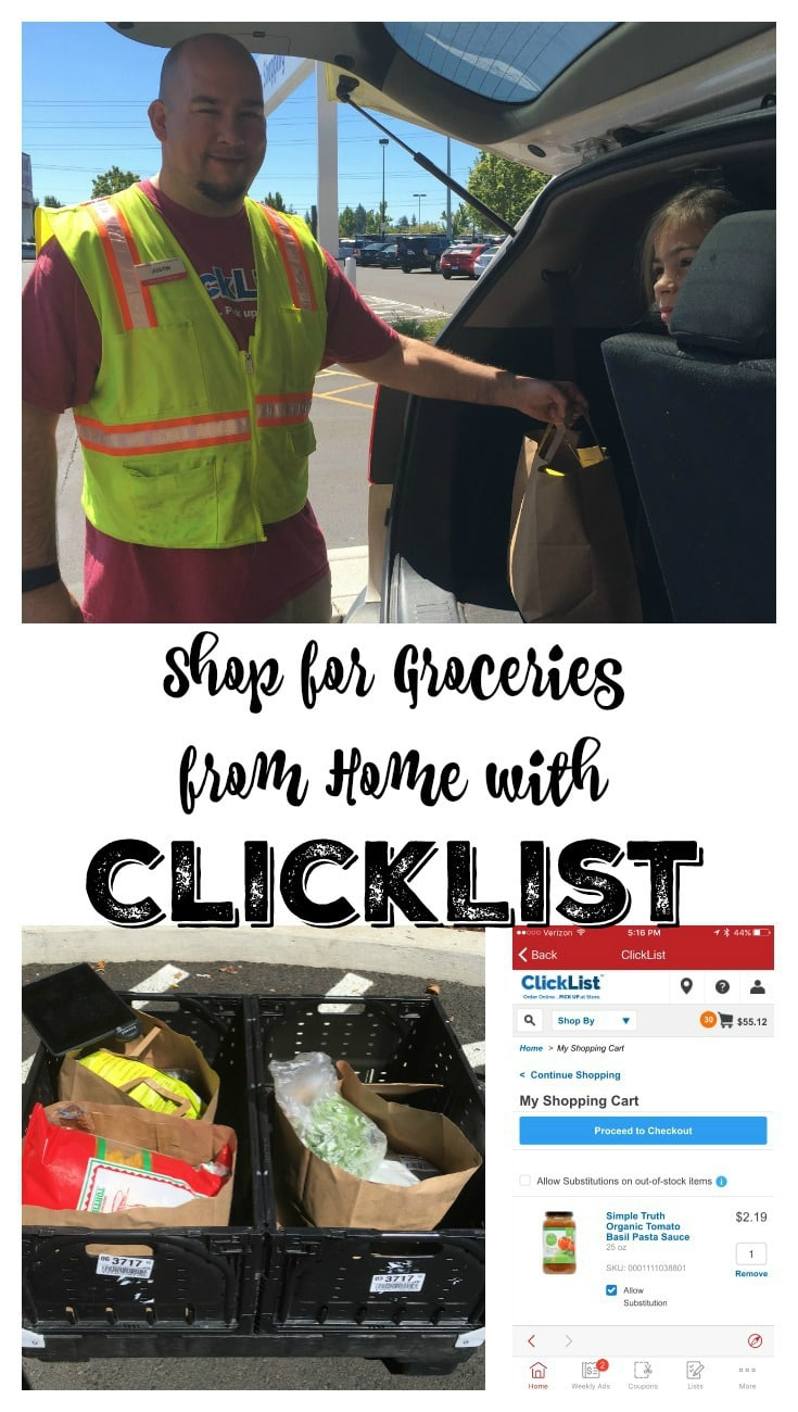 Shop for Groceries from Home with ClickList