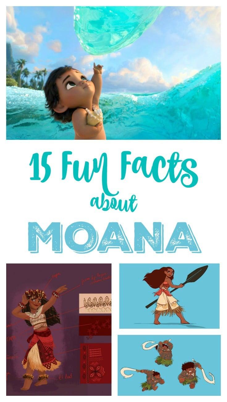 15 Fun Facts about Moana