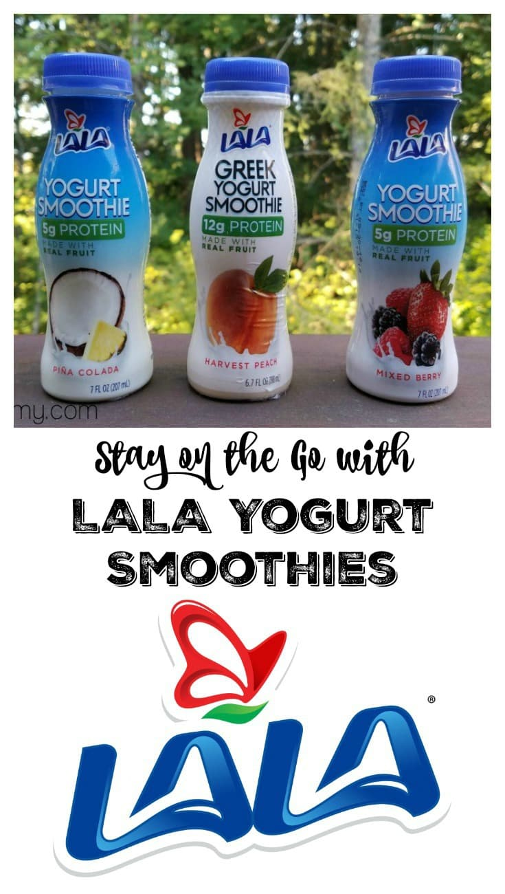 Stay on the Go with LALA Yogurt Smoothies Pin