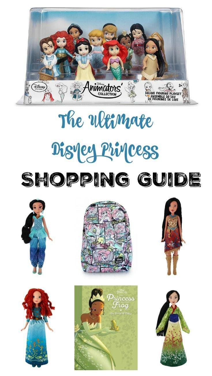 Ultimate Disney Princess Shopping Guide