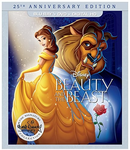 Bring Home all of the Disney Princesses for a Limited Time of Blu-Ray and DVD - 25th Anniversary of Beauty and the Beast