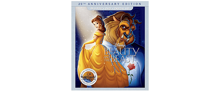 Bring Home all of the Disney Princesses for a Limited Time of Blu-Ray and DVD – 25th Anniversary of Beauty and the Beast