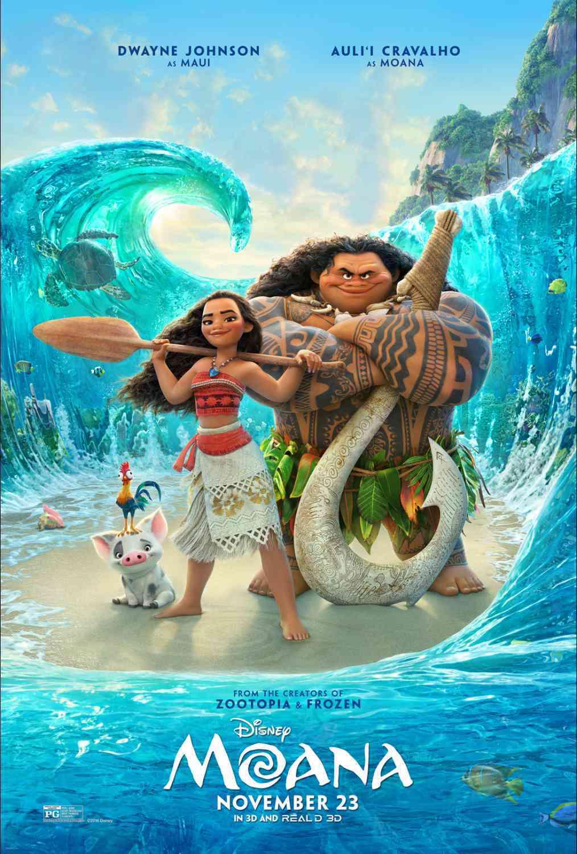 Disney's Moana movie poster