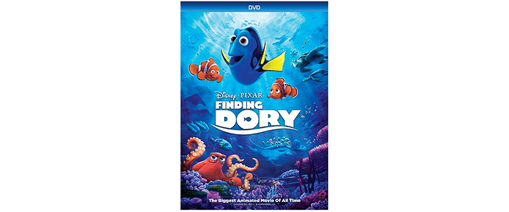 FREE Finding Dory DVD After Cash Back