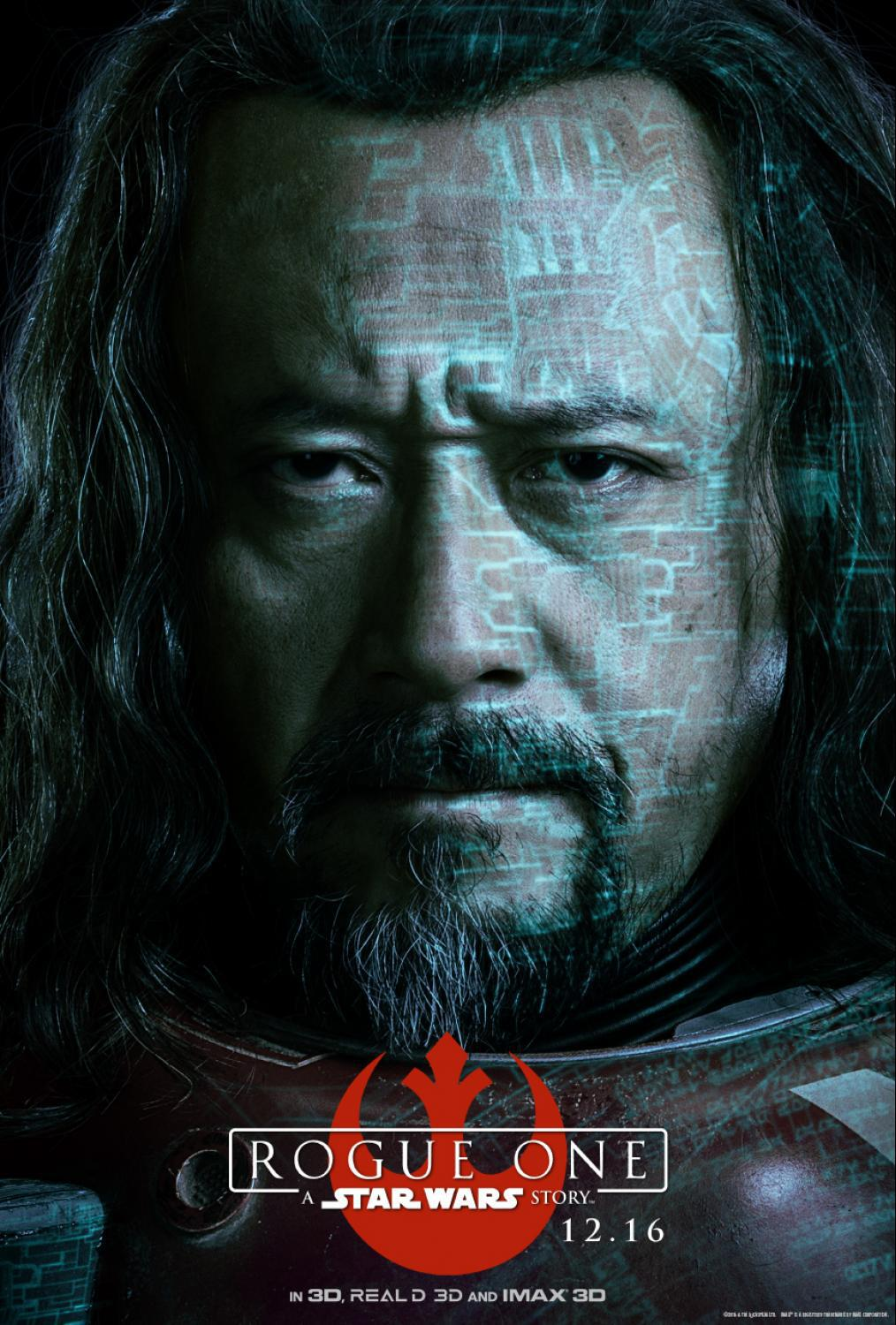 First Look - Rogue One: A Star Wars Story Character Posters Now Available