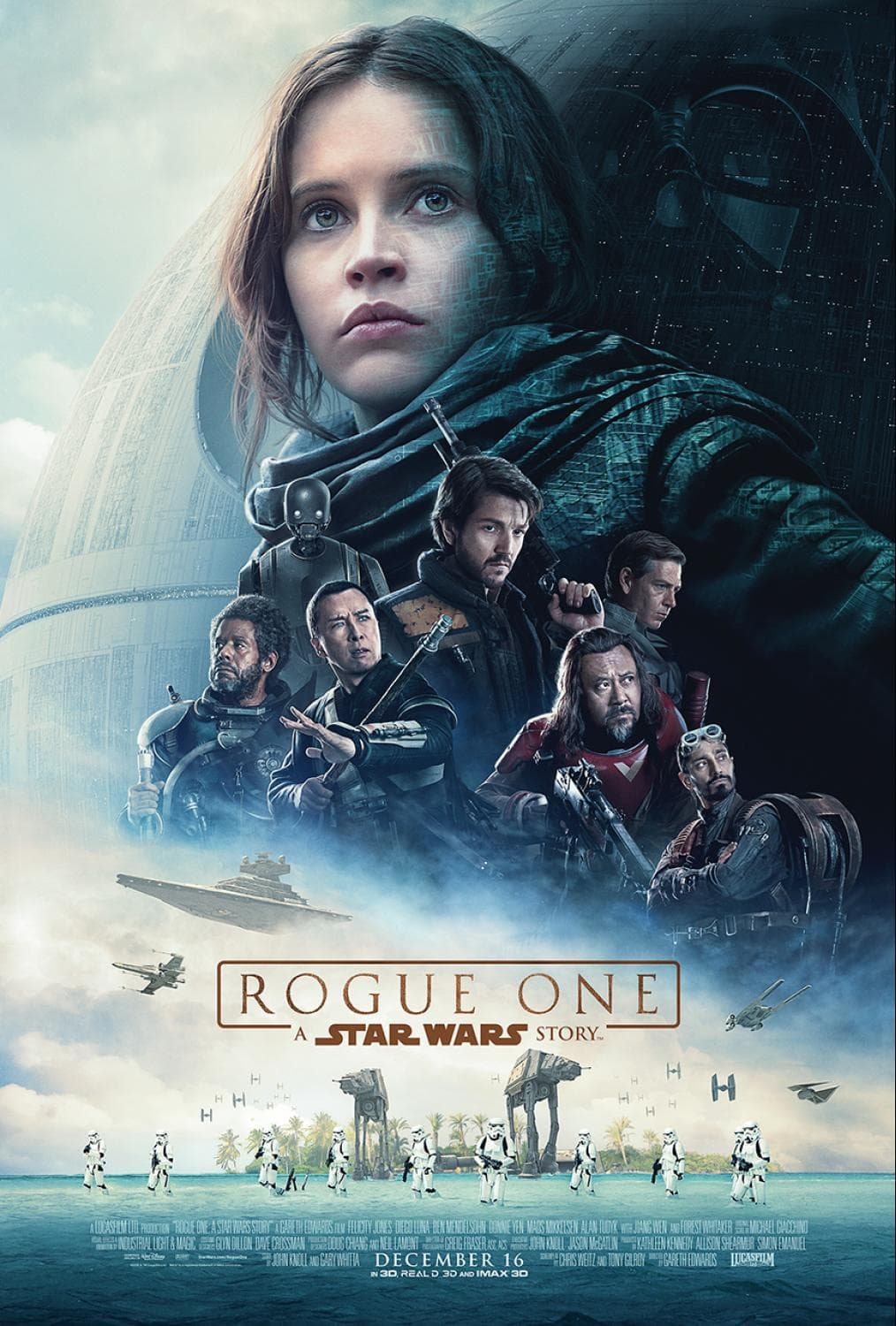 First Look - ROGUE ONE: A STAR WARS STORY Poster