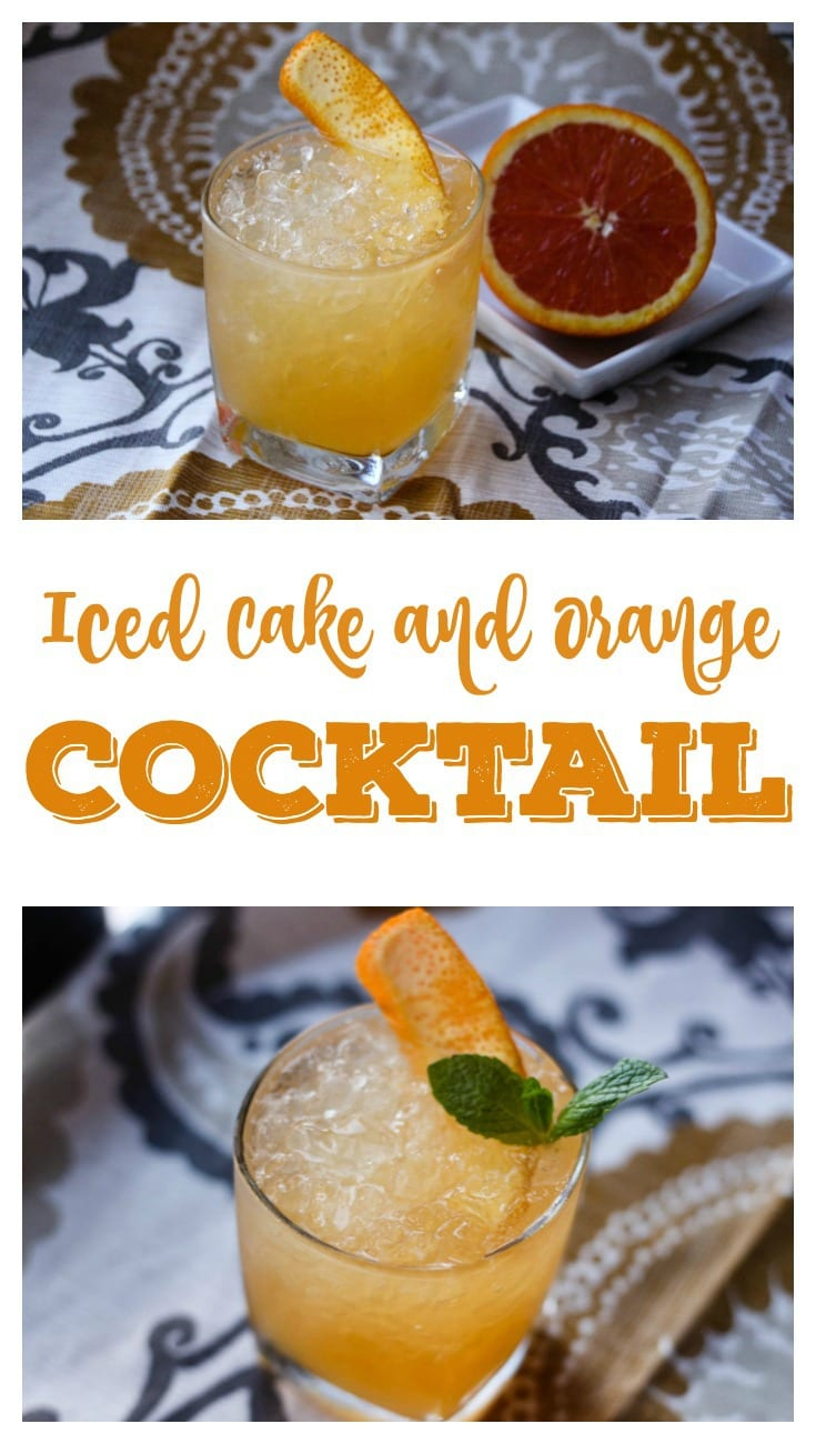 The Iced Cake and Orange Cocktail Pin