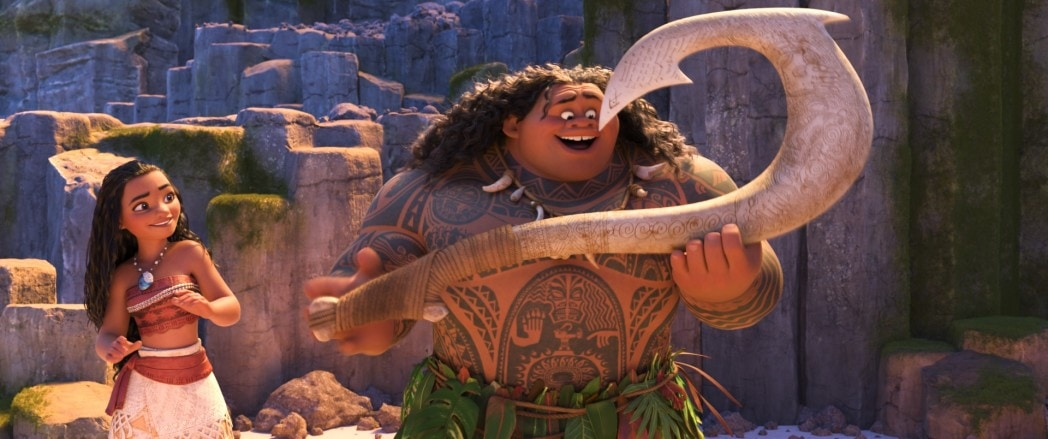 13 Things to Know About Auli'i Cravalho and Why Moana Calls Her - Moana and Maui legend art