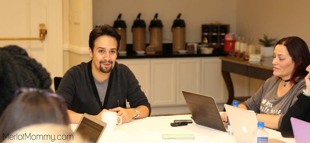 Exclusive Interview Lin-Manuel Miranda Moana Movie