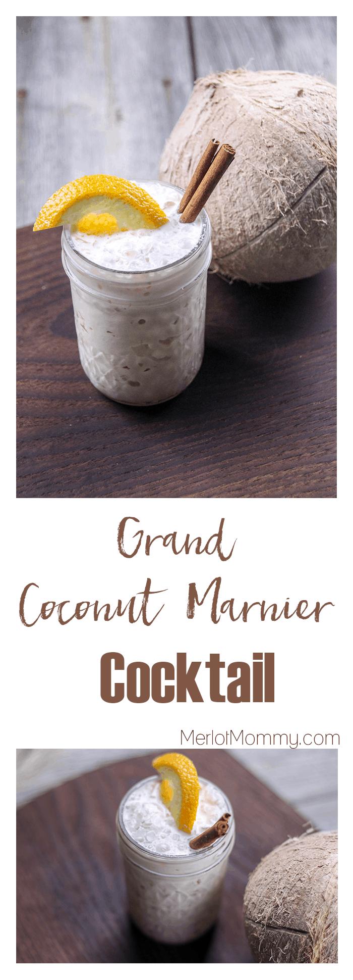 Moana Cocktail - Grand Coconut Marnier Cocktail
