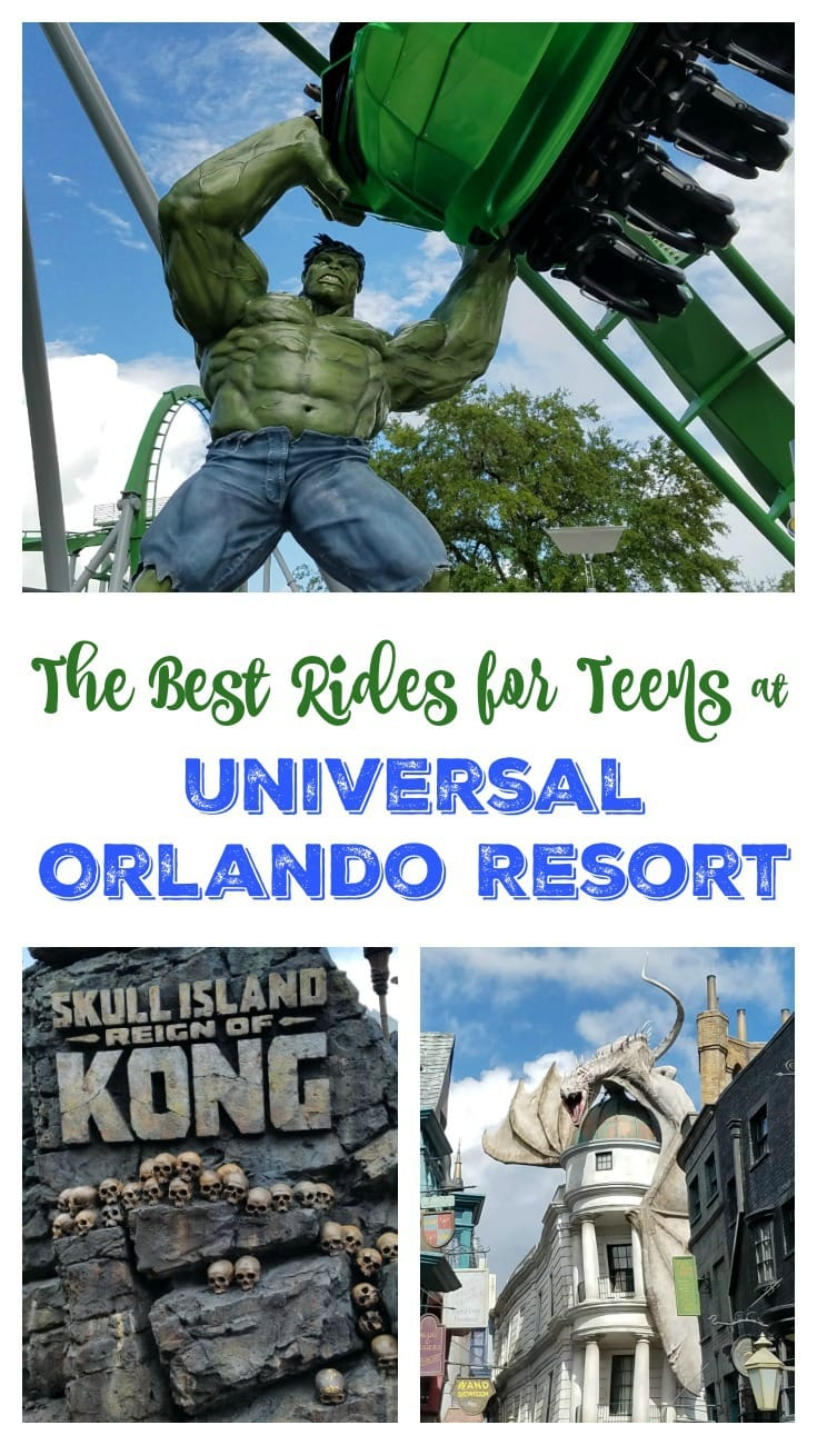 The Best Rides for Teens at Universal Orlando Resort