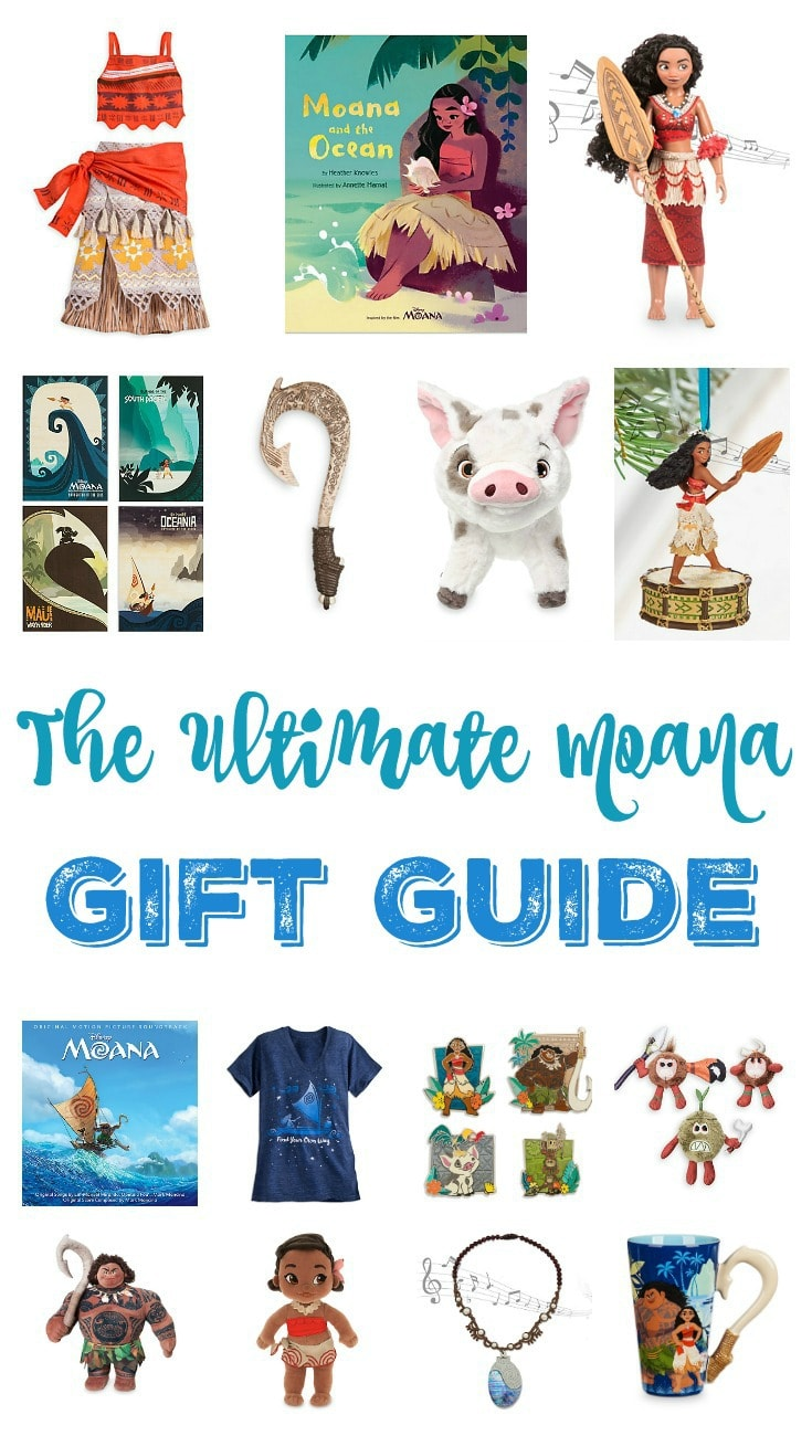 The Ultimate Moana Gift Guide
