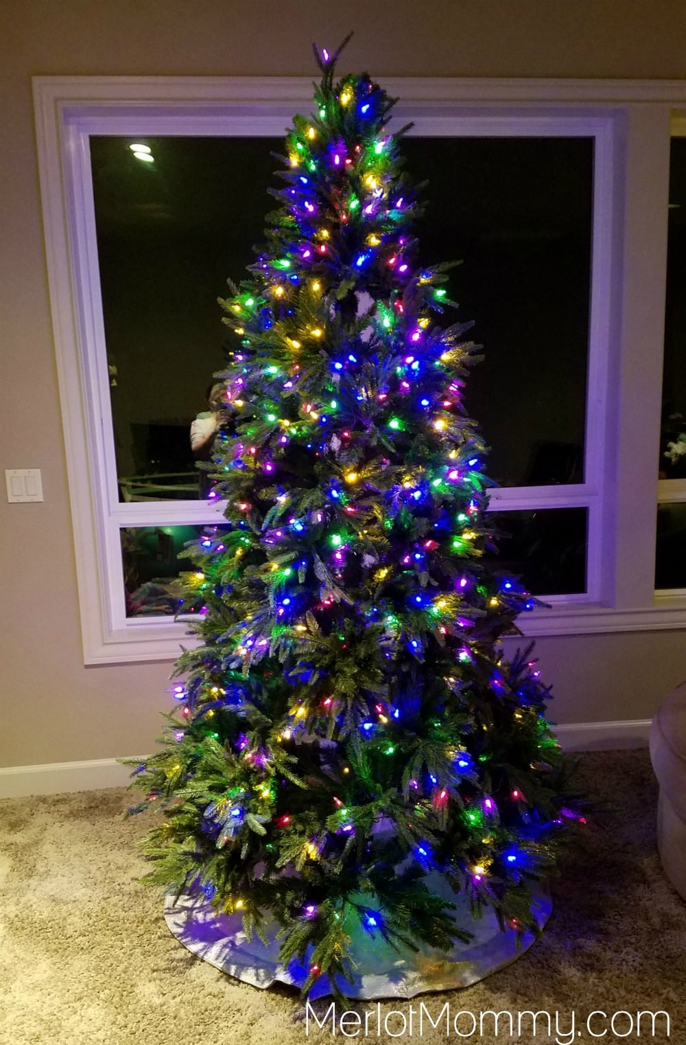 Make Decorating Your Tree for the Holidays Easy with ULTIMA Tree - Muli-Colored LEDs