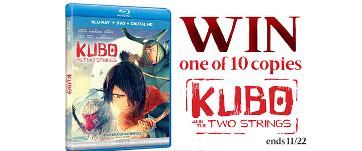 Kubo and the Two Strings Giveaway