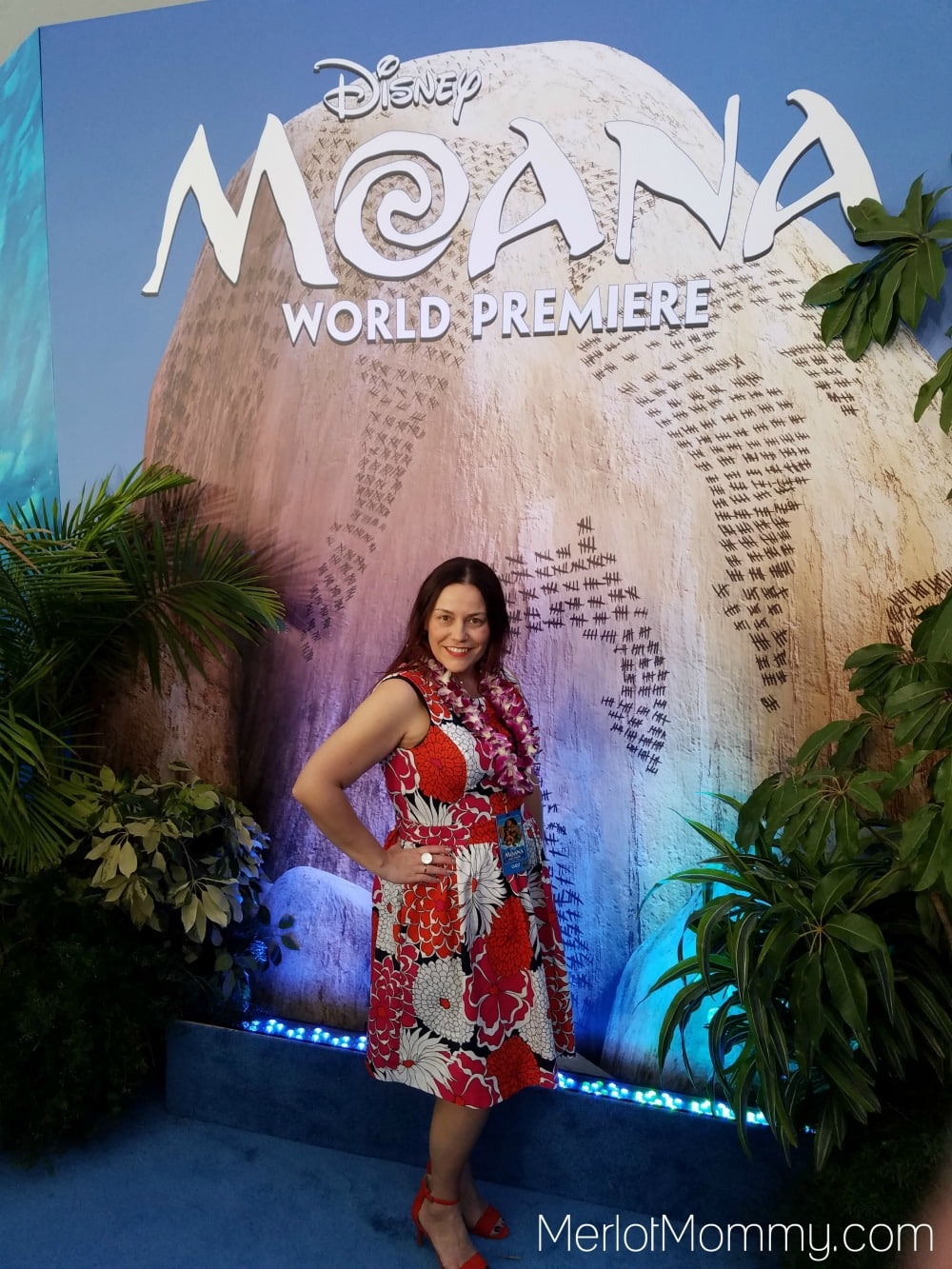 Moana Red Carpet Premiere Experience