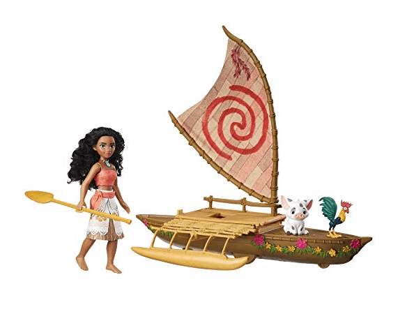 Disney Moana Starlight Canoe and Friends