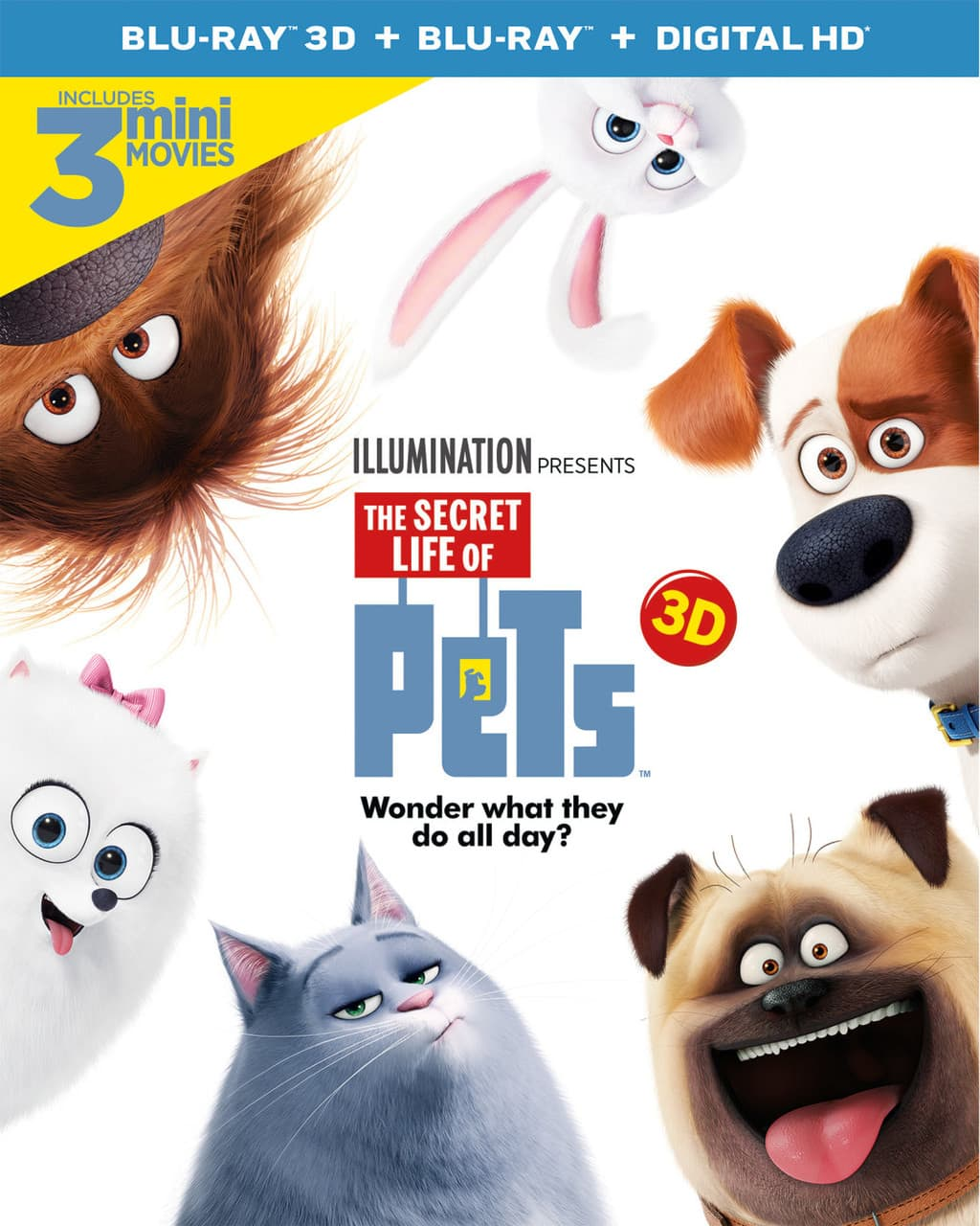 The Secret Life of Pets on Blu-Ray/DVD + Giveaway