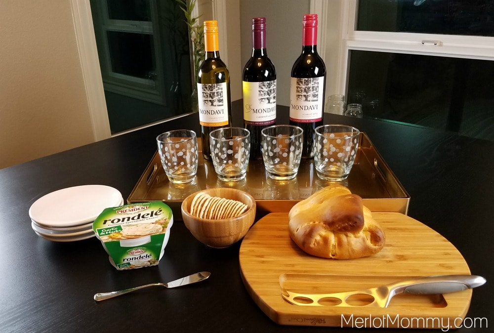 Baked Brie in Puff Pastry - Holiday Entertaining Spread with CK Mondavi