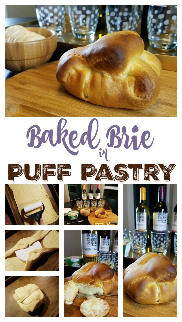 Baked Brie in Puff Pastry Pin