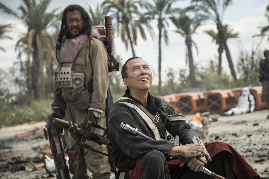 Rogue One Easter Eggs and Cameos Guardians of the Whills