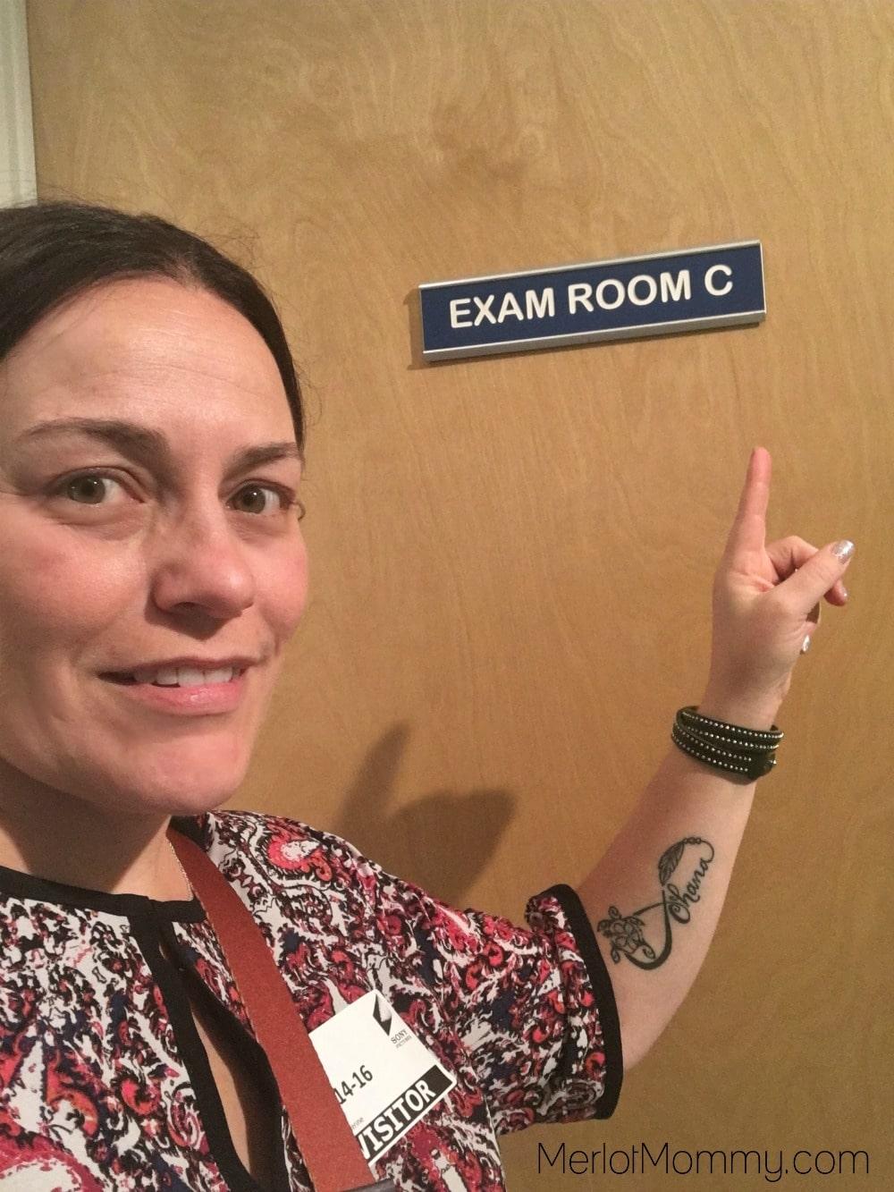 Dr. Ken Set Visit - Exam Room