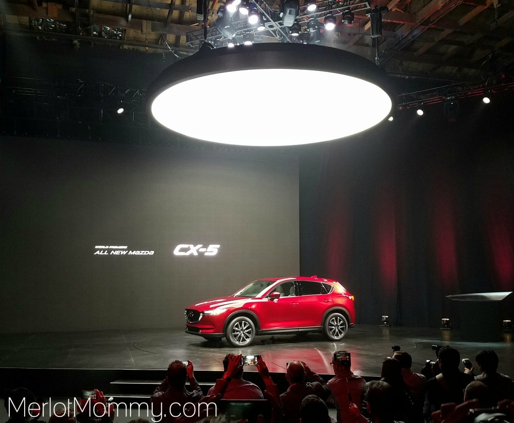 Sexy and Sustainable Cars with Steel are Key at LA Auto Show - Mazda CX-5