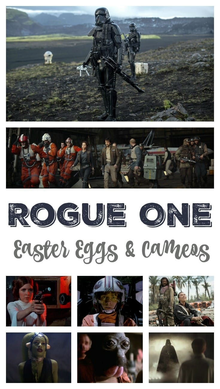 Rogue One Easter Eggs and Cameos