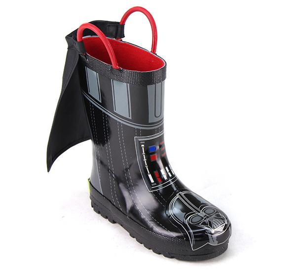 Star Wars Darth Vader Rain Boots