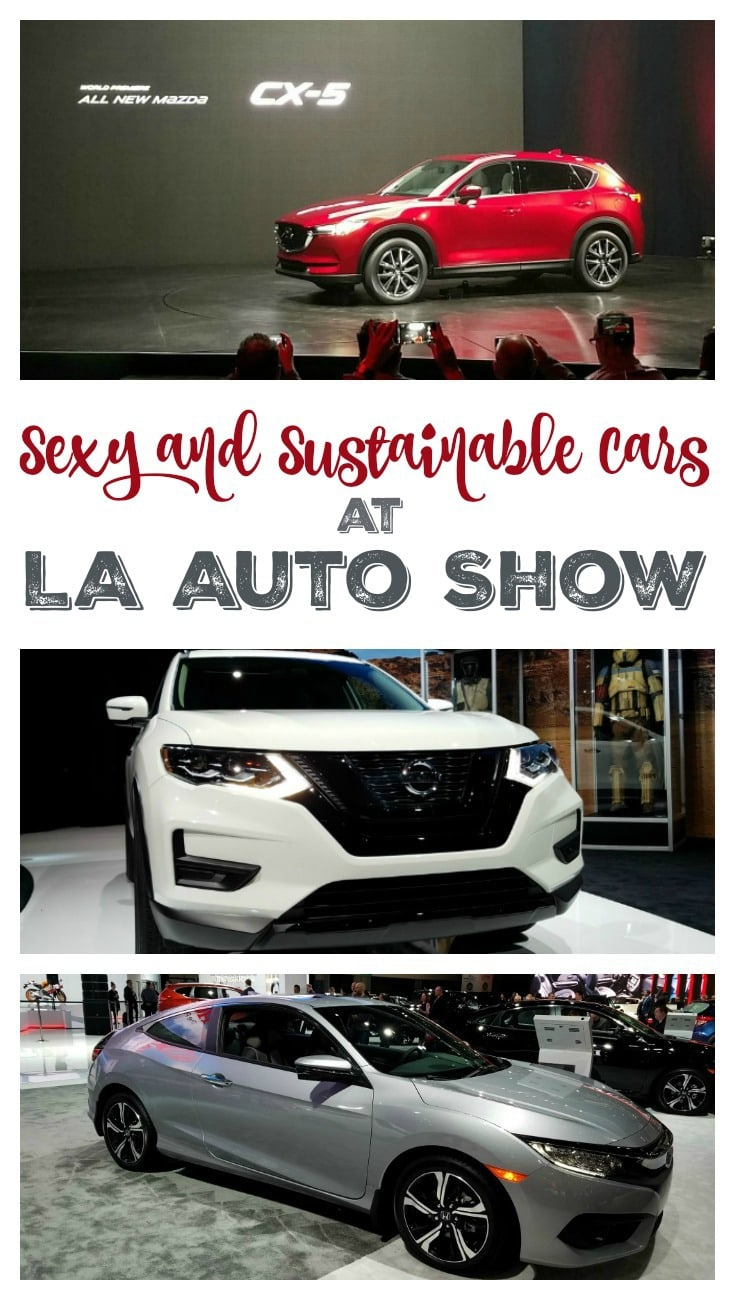 Sexy and Sustainable Cars with Steel are Key at LA Auto Show