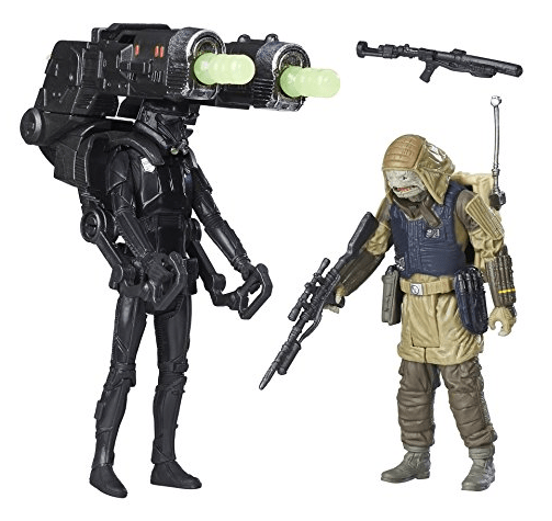 Star Wars Rogue One Imperial Death Trooper & Rebel Commando Pao Deluxe