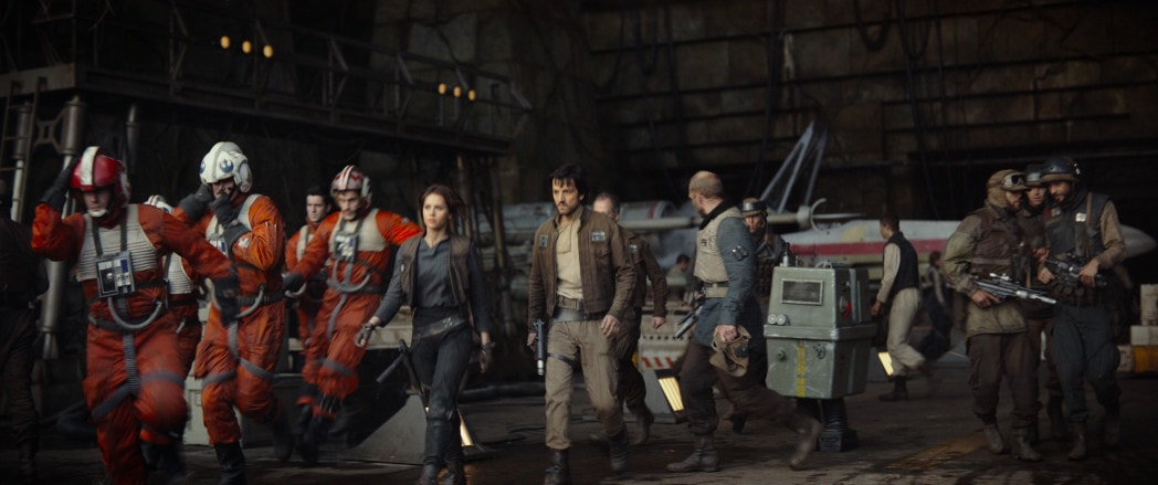 Rogue One Easter Eggs and Cameos Yavin base