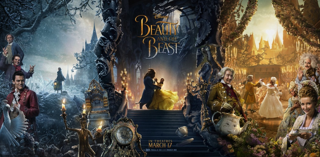 First Look Final Beauty and the Beast Tryptic