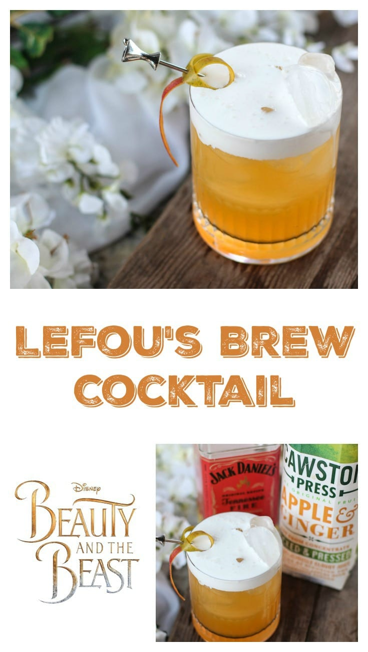 LeFou's Brew Cocktail - Beauty and the Beast-Inspired Cocktail