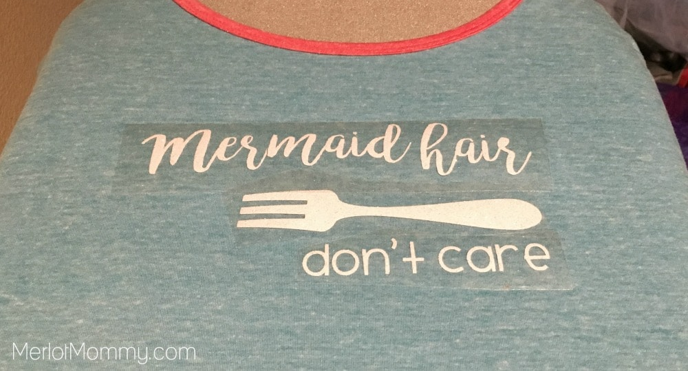 DIY Little Mermaid-Inspired Shirt