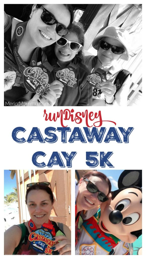runDisney Castaway Cay 5k for the Family on the Disney Cruise Line collage