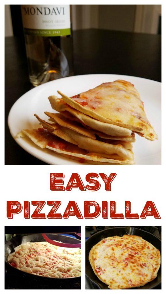 Easy Pizzadilla Recipe Pin