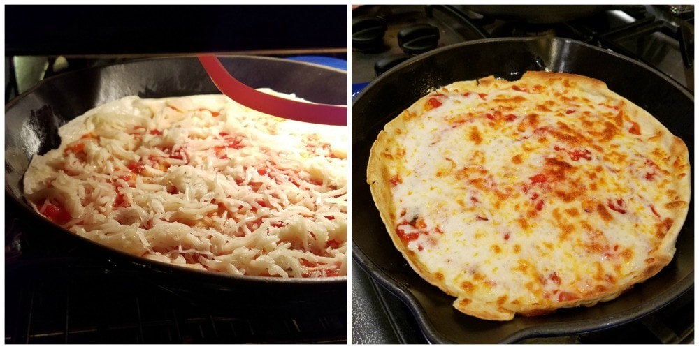 Easy Pizzadilla Recipe Process