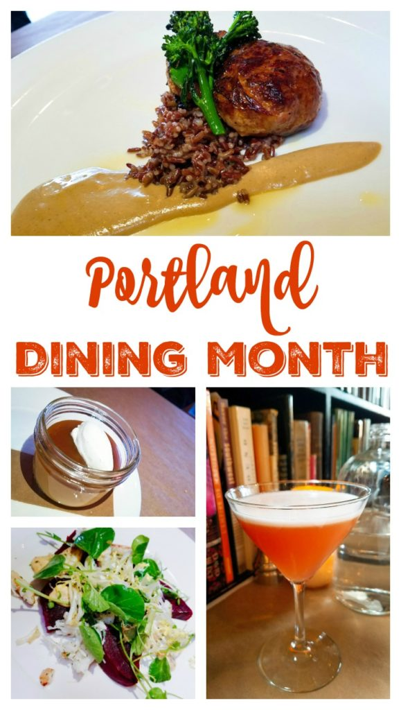 March is Portland Dining Month Pin