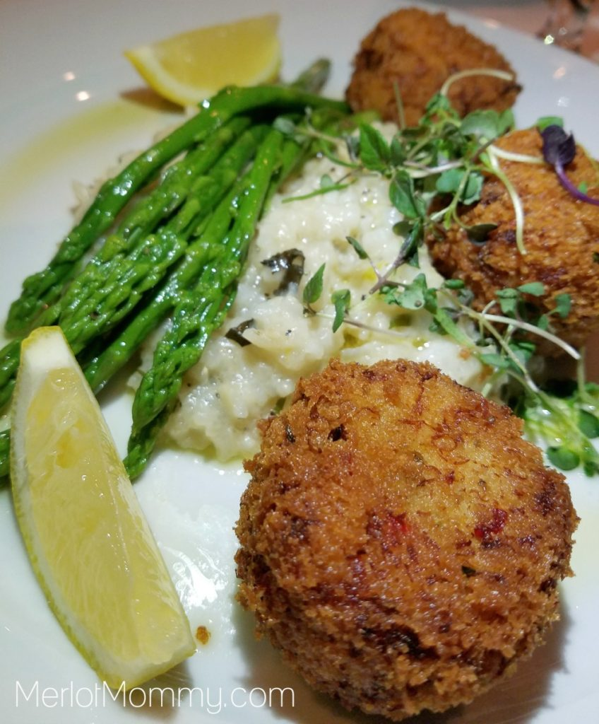 Embassy Suites by Hilton Seattle-Tacoma International Airport Basil's Kitchen Crab Cakes